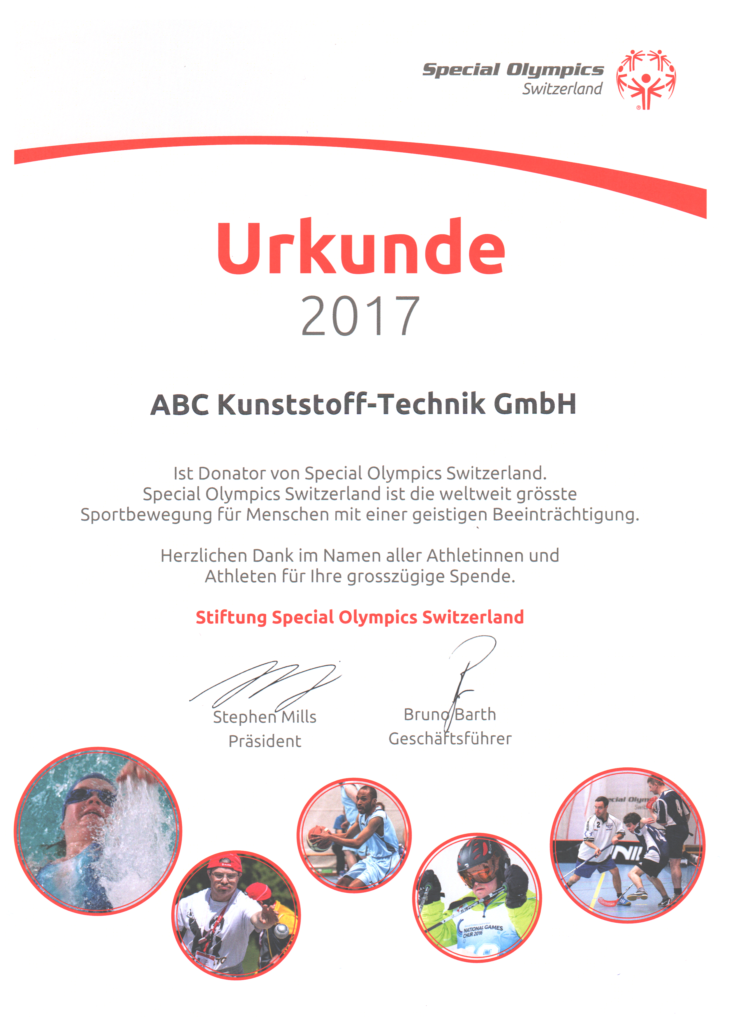 Stiftung Special Olympics Switzerland